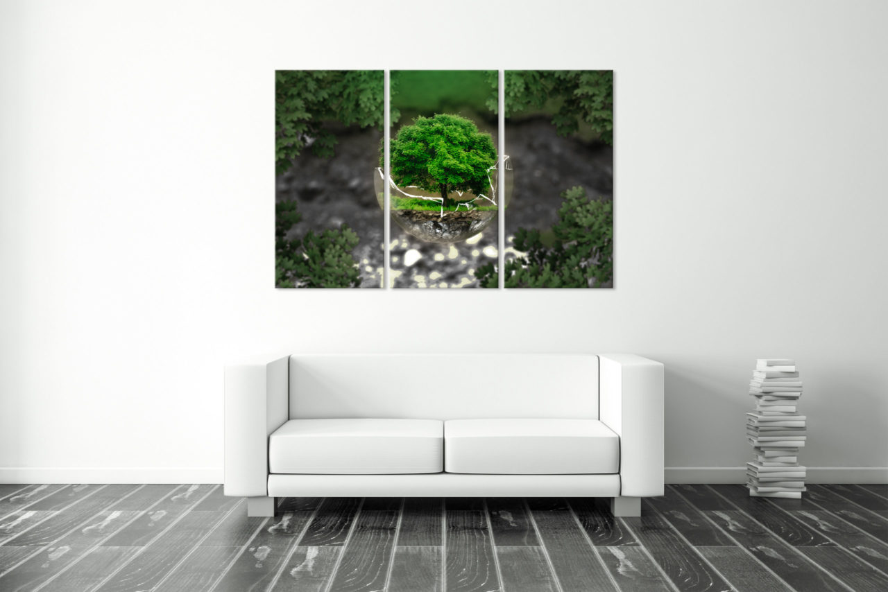 Canvas Print Protect Nature